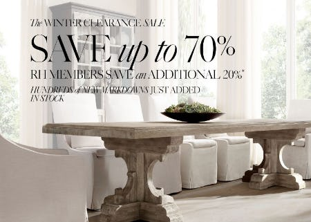 Up to 70% Off The Winter Clearance Sale