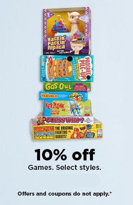 10% Off Games