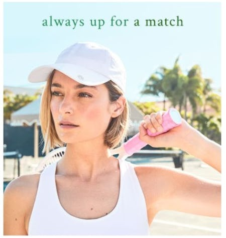 Serve Style in the Latest Tennis Collection from Lilly Pulitzer