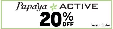 20% Off Papaya Active from Papaya