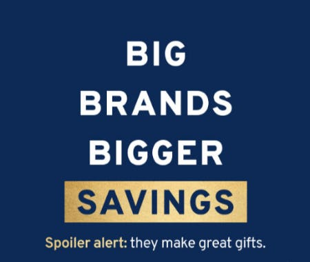 Big Brands Bigger Savings from Marshalls