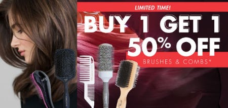 BOGO 50% Off Brushes & Combs from Sally Beauty Supply
