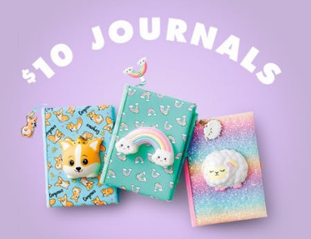 $10 Journals from Justice
