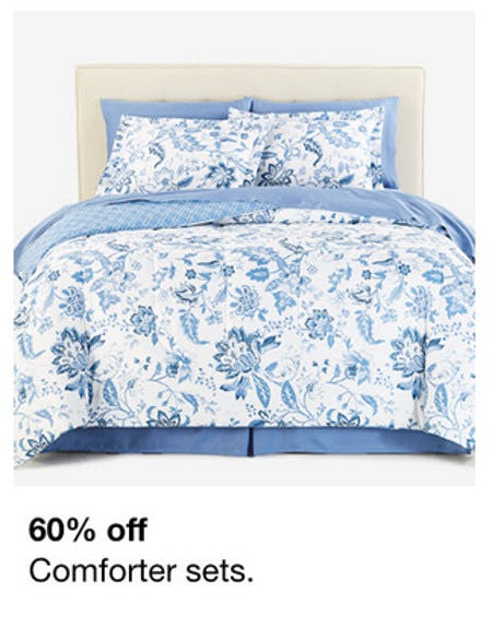 60% Off Comforter Sets from macy's