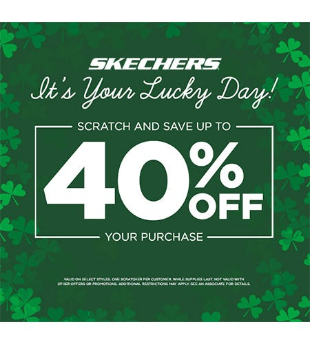 3d99cefd0ff6 SCRATCH AND SAVE UP TO 40% OFF YOUR PURCHASE! at Skechers