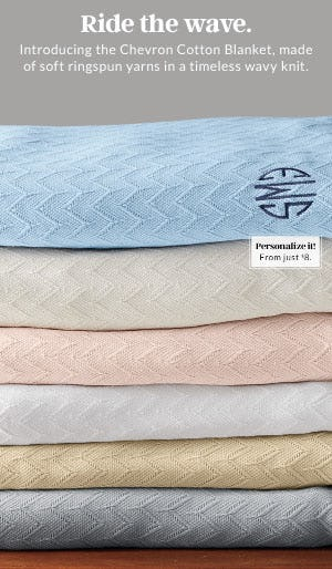 This New Blanket is Making Waves from Lands' End