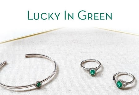 Lucky Green Gemstones from Ben Bridge Jeweler