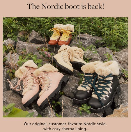The Nordic Boot Is Back