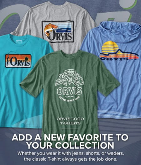Orvis Logo T-Shirts from Orvis