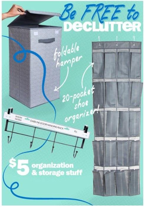 $5 Organization & Storage Stuff from Five Below