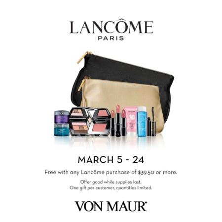 Lancôme Spring GWP from Von Maur