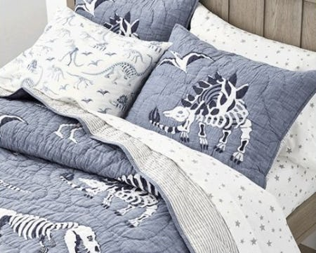 The Dino Bones Collection from Pottery Barn Kids