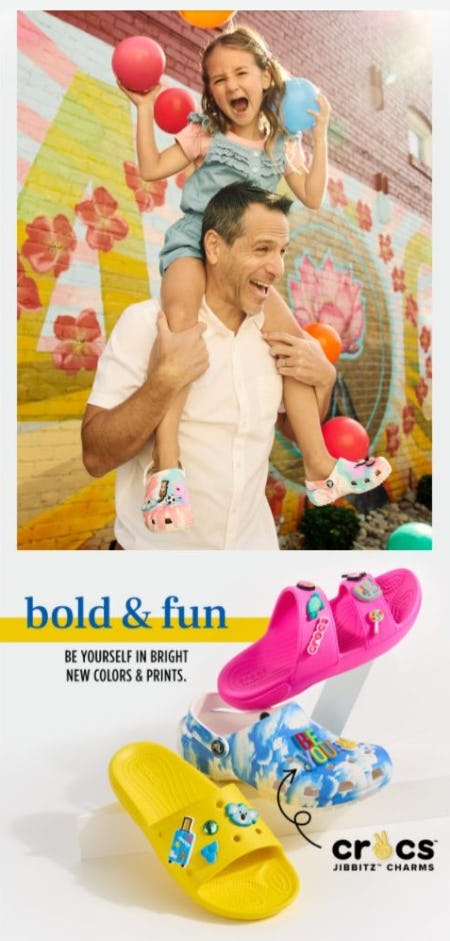 Colorful Delight Crocs from Rack Room Shoes