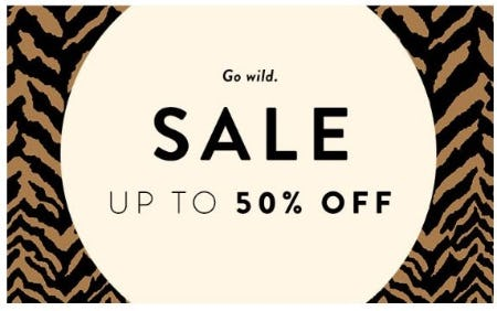 Up to 50% Off Sale from Aritzia