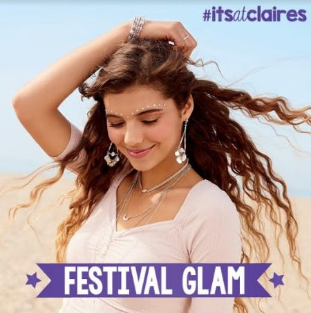 Time to get Festival ready! from Claire's