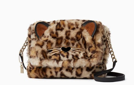 Run Wild Leopard-Print Muff
