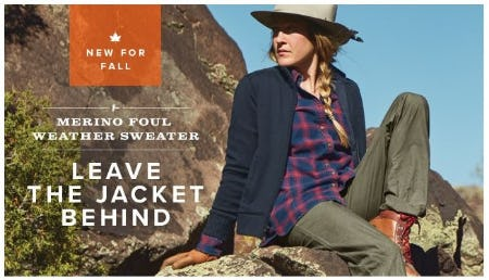 Windy Days Used to Mean Jacket Weather from Orvis