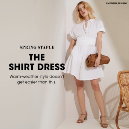 The Shirt Dress from Bloomingdale's