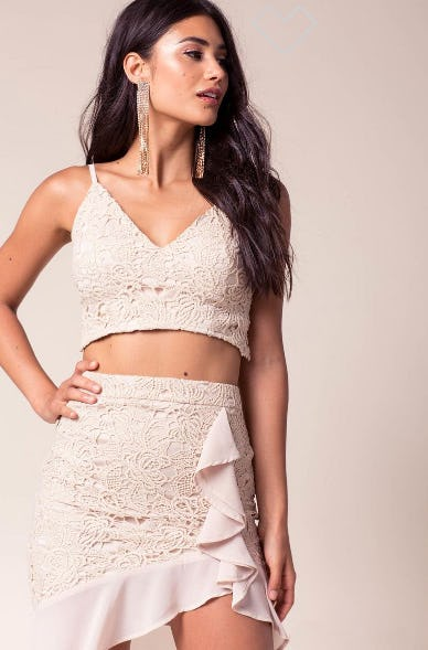 Day Dreaming Crop Top from A'gaci