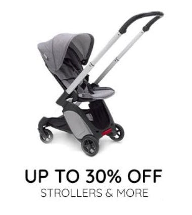 up to 30% Off Strollers and More from Pottery Barn Kids