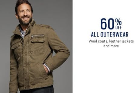 60% Off All Outerwear