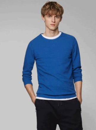 Lightweight Fall Layers from Hugo Boss