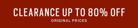Clearance Up to 80% Off from Men's Wearhouse
