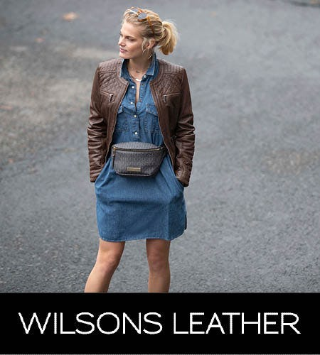 Entire Store Up to 80% Off from Wilsons Leather