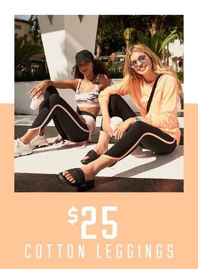 $25 Cotton Leggings from Victoria's Secret