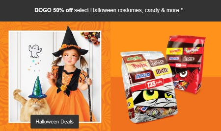 BOGO 50% Off Halloween Deals from Target