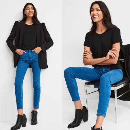 All Jeans BOGO Free at Express Factory Outlet! from Express