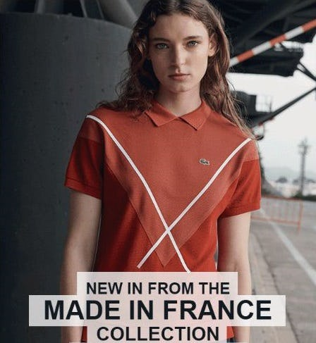 Discover‌ the‌ Made‌ in‌ France‌ Collection from Lacoste