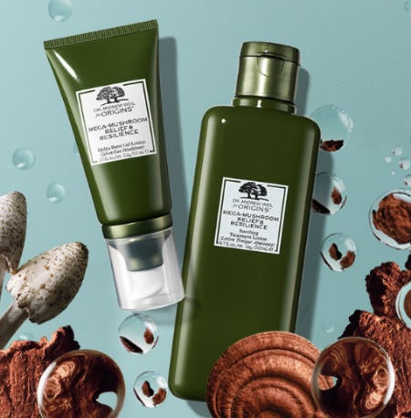 Mushroom-Infused Skincare from Origins
