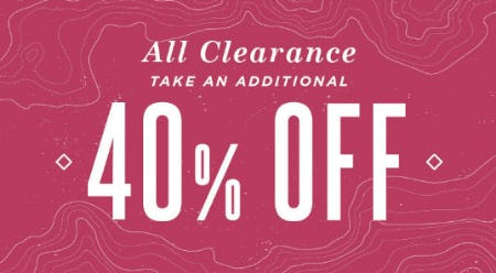 Additional 40% Off Clearance from Earthbound Trading Company