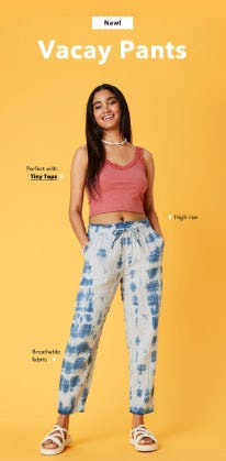 Just Dropped: Vacay Pants from American Eagle Outfitters