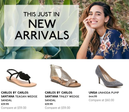 Discover Our New Arrivals from DSW Shoes