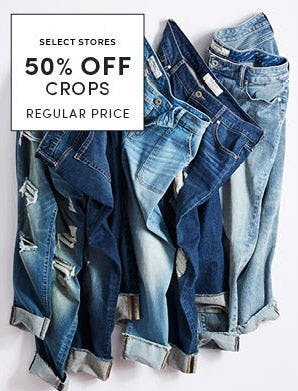 50% Off Crops from Torrid