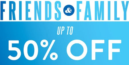 Friends & Family: Up to 50% Off from Ashley Stewart