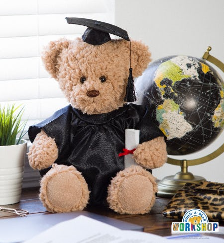 CeleBEARate Graduation Season with Furry Friends from Build-A-Bear Workshop!
