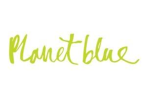 플래닛 블루 Logo