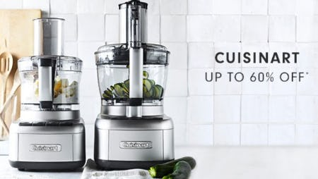 Cuisinart up to 60% Off from Williams-Sonoma