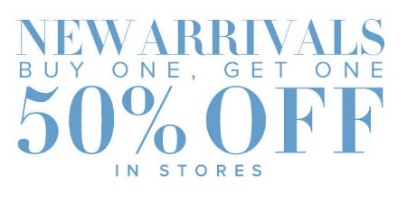 BOGO 50% Off New Arrivals from New York & Company
