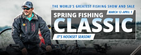 Spring Fishing Classic from Cabela's