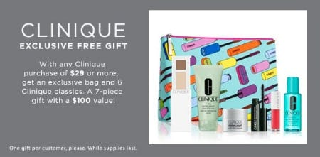 Free Beauty Gift with Purchase from Lord & Taylor
