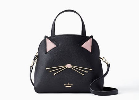 Cat's Meow Cat Small Lottie from kate spade new york