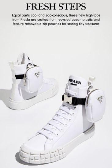 Prada's Impactful New Sneakers from Neiman Marcus