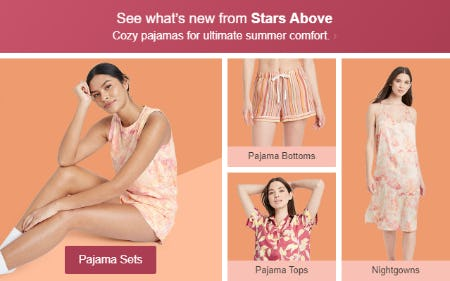 See What's New from Stars Above
