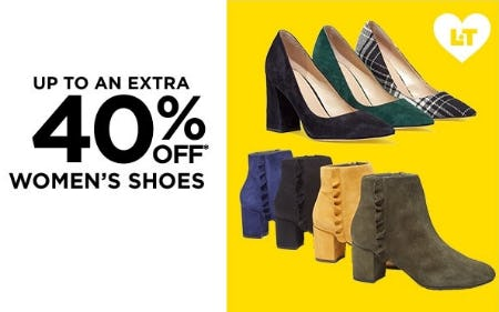 Up to an Extra 40% Off Women's Shoes from Lord & Taylor