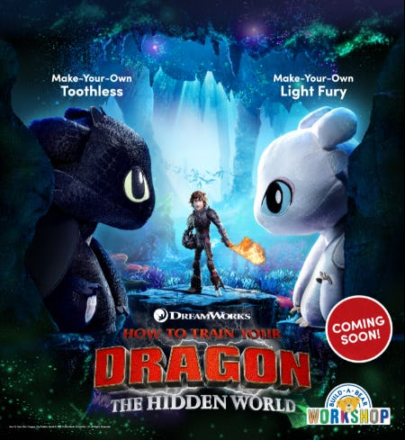 "Fly Away with NEW ""How to Train Your Dragon"" Arrivals! from Build-A-Bear Workshop"