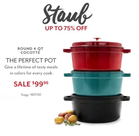 Up to 75% Off Staub from Sur La Table